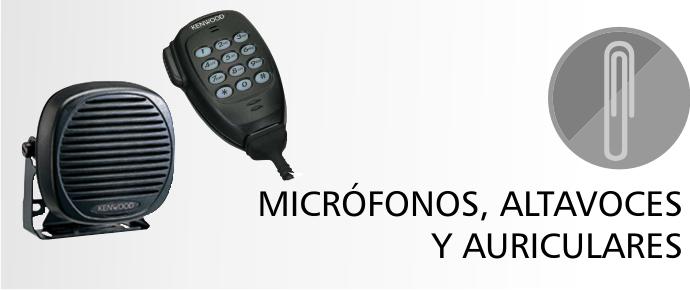 Micrófonos, Altavoces y Auriculares