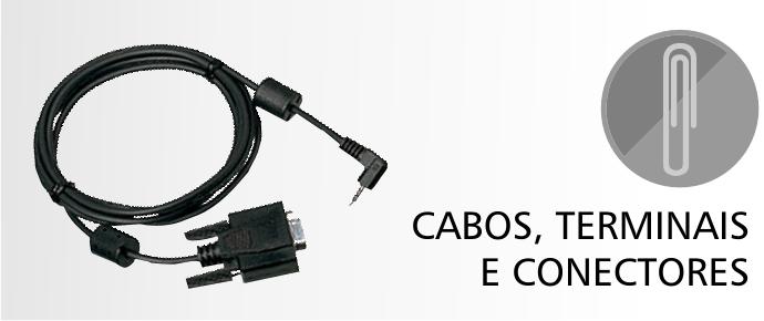 Cabos, Terminais e Conectores