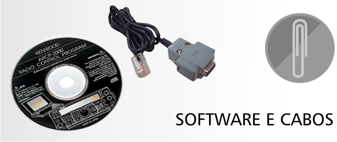 Software e cabos de programação