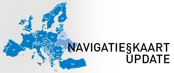 Navigatiekaart Updates