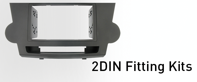 Double-DIN Fitting Kits