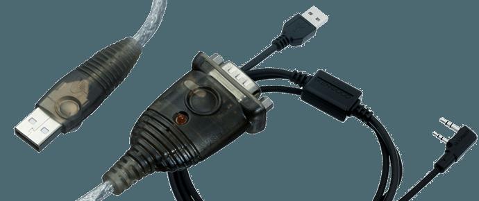Câbles de programmation